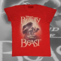Beauty and the beast -T-shirt by SHWZ
