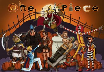 - One Piece Halloween - by coreymill