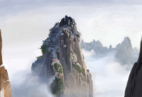 Ancestral Mountain by Sidokunoice