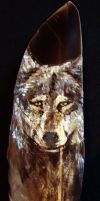 Wolf Feather by JenTheThirdGal