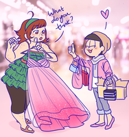 [Commission] Totty and Marie by Susan-Kim