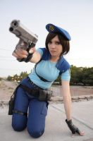 Jill Valentine: I will fight! by Tify-Diamond