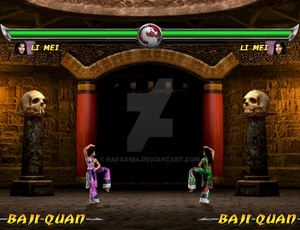 Mortal Kombat: Deadly Alliance Demake WIP
