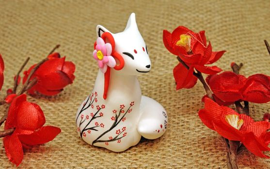 An Oriental Fox by Ailinn-Lein