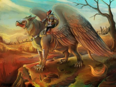 Collab: Griffin Rider by E-tane