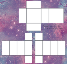 Pastel Galaxy Roblox Pants Shirt Template Fixed By 92044 On Deviantart