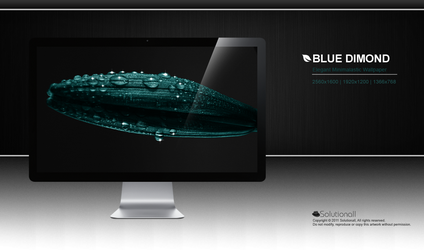 Blue Dimond HD Wallpaper by solutionall