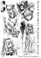 Asuka: the unpublished artbook by Lord--Opal