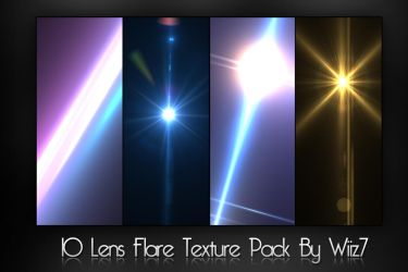 Lens Flare Pack by daWIIZ
