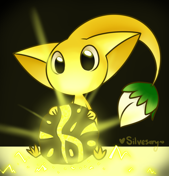 Yellow Pikmin by silvesary