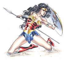 Wonder Woman by therealARTURO