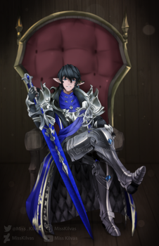 Final Fantasy XIV: Ser Aymeric (with video!) by MissKilvas