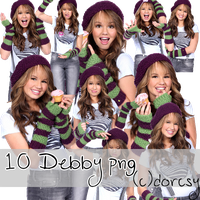 Debby Ryan PNG Pack by JustMeDorcsy