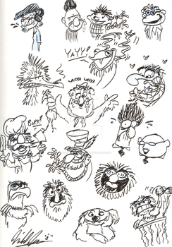 Dud Muppets by MichaelJRuocco