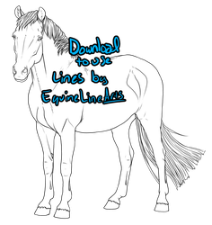Pony Lines - Download to use by ShapeShifter314