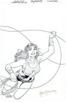 WONDER GIRL Special #1 Cover - Scott/Hazlewood by DRHazlewood