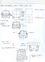 How to draw cars part2 by fritzoy