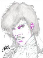 PRINCE: PURPLE RAIN PENCIL by ARTofTROY