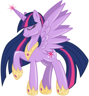 Alicorn Princess Twilight Sparkle - Spark of Magic by KyssS90