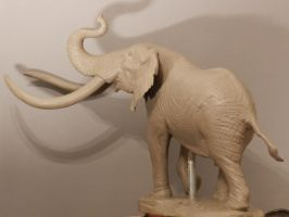 Clay Elephant 1 by JordanAbernethy