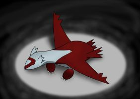 Sleepin' Latias by Resistance-Of-Faith
