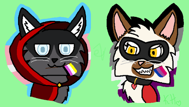Castle cats PRIDE! by eyelessZomp1re