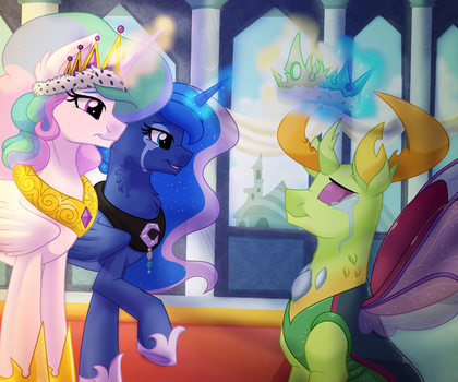 The Coronation of Thorax by ItsTaylor-Made