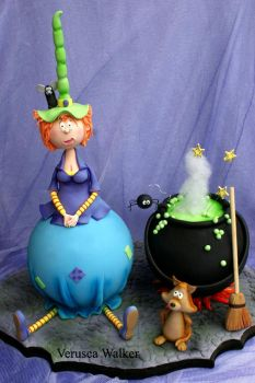 Mathilda the Witch cake by Verusca