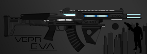 Vepr Industries - Railgun Assault Rifle 'Eva' by prokhorvlg