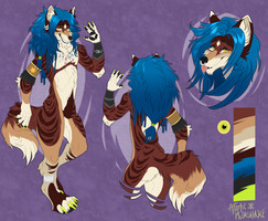 AUCTION:: Striped Hyena x Maned Wolf. CLOSED by AtomicMilkshake