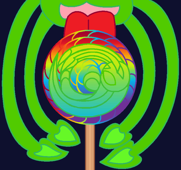 Alien Aisha Lollipop by ZIM402