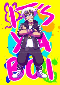 Guzma by Red-Flare
