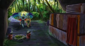 Infected!AU: Rainbow's Digs by Earthsong9405