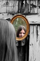 My myself in the mirror by SymphonicA19