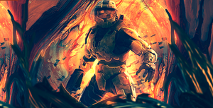 Master Chief by ThunderBR