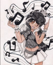 Contest Entry- Music Is My World by LilacPhoenix