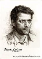 Misha Collins comission by diablana81