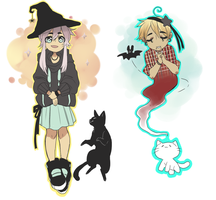 Halloween Adopts by Silent-Koi