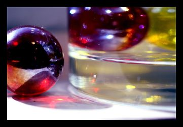 Marbles and Glass by humminggirl