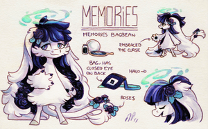 Memories Ref. Sheet [CM] by Baraayas