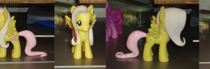 Fluttershy Finished Sculpt by OtakuSquirrel