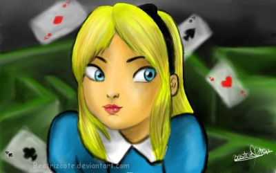 Alicia in the wonderland by beatrizcote