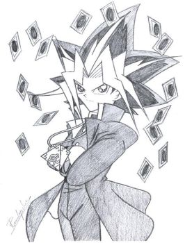 YGO - Yami's Card Play by yukito-chan