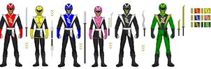 Power Rangers: Ninja warriors by dhipperson