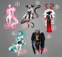 ADOPTS 16 eur [closed] : Monsters by Meet-our-Maker