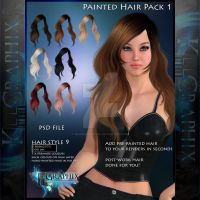 Instant Hair PSD Stock - Juliana NEW 300 dpi by MakeMeMagical