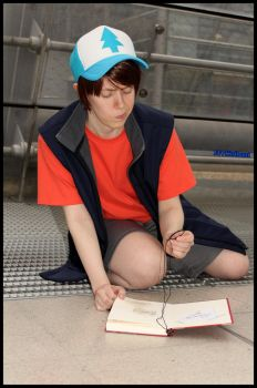 Dipper Pines - Why a monocle by 2D-Dipper