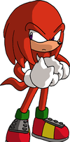 Knuckles the Echidna by ThePandamis