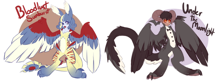 (sold) whatever these things are -Auction- by royalraptors