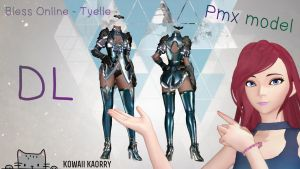Bless Online - Tyelle by Kowaii-Kaorry